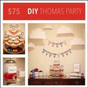 DIY Thomas party