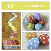 EASTER DIY EGG IDEAS
