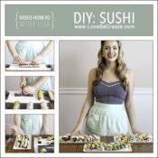 DIY Sushi video