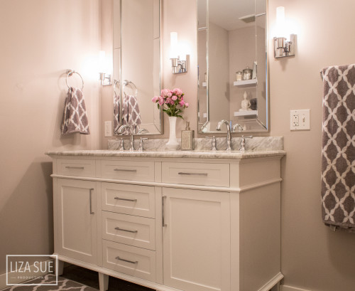 Luxurylooking Bathroom Remodel LoveBeCreatecom - Bathroom remodel order